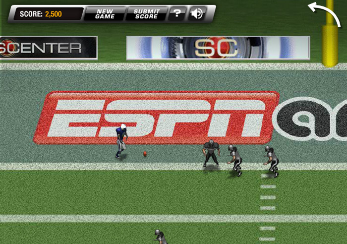 Return man 5 play the newest football game for free